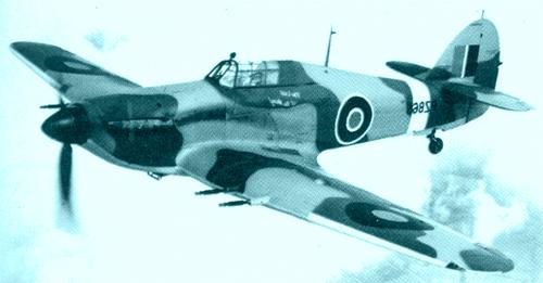 british fighter plane