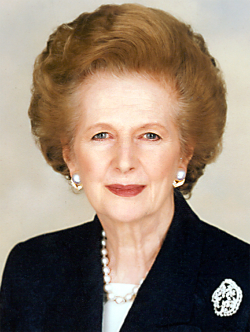 Margaret Thatcher - The Iron Lady (source: commons.wikimedia.org)