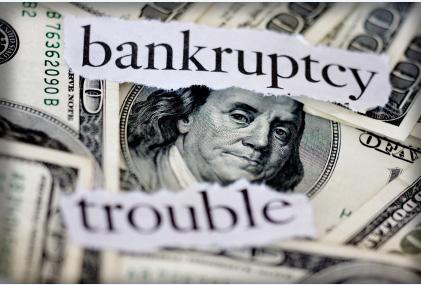 US dollar bankruptcy