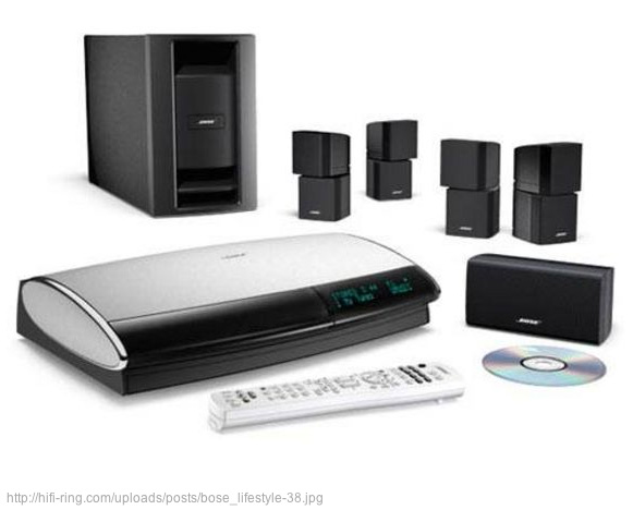 Bose sound home theatre system