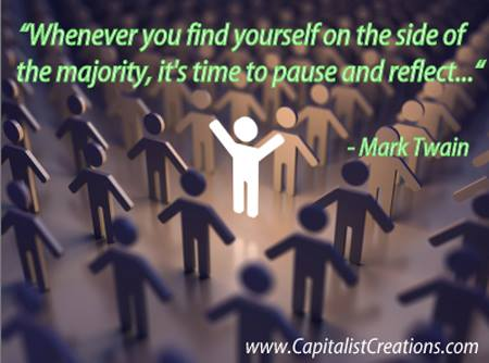 Mark Twain contrarian quote