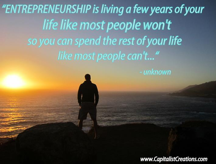 Why become an entrepreneur?