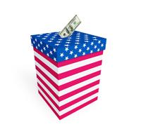 money ballot box