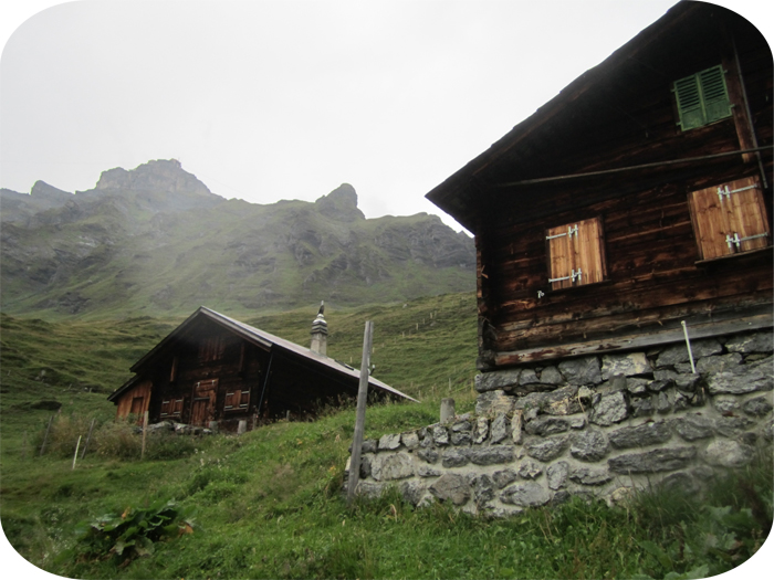 Traditional Swiss home on Schilthorn