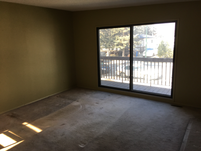 rental property renovations - before picture