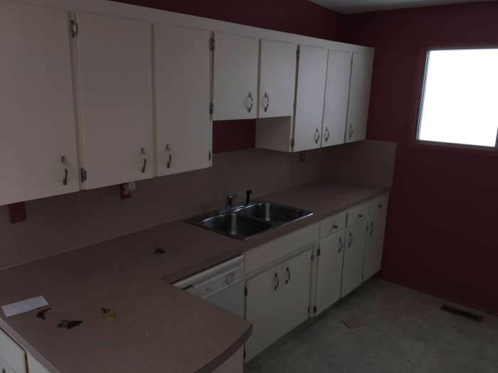 renovations on rental property. Before pictures