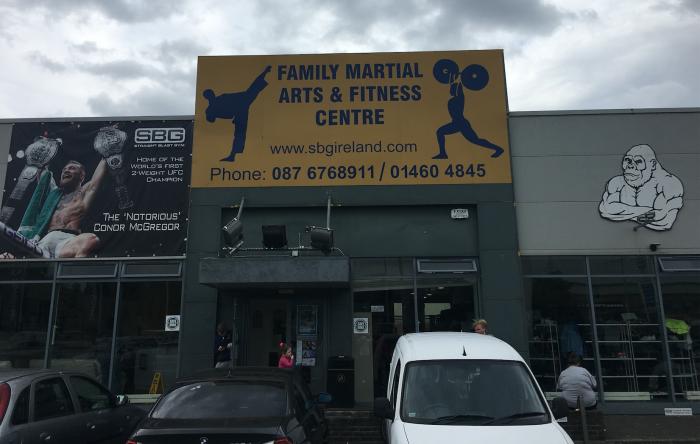 Straight Blast Gym - Conor McGregor's Training Facility in Dublin, Ireland