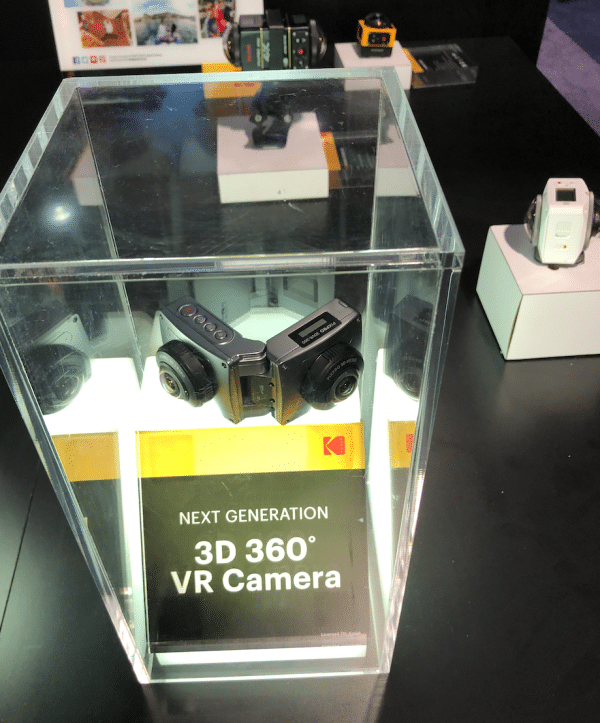 Kodak's 3D and 360 degree cameras at CES