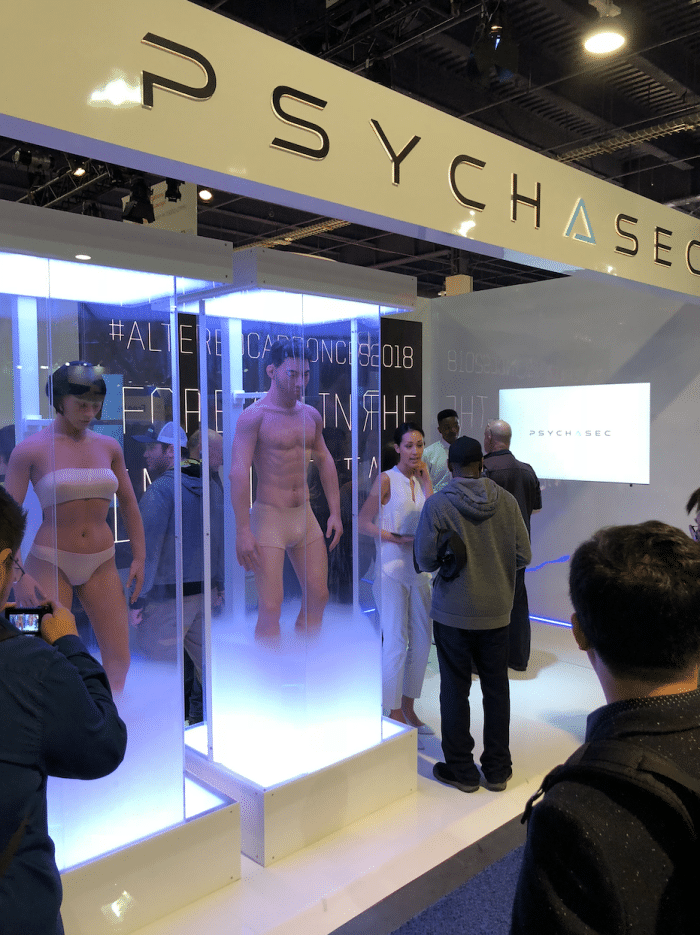 PsychASec was a marketing stunt by Netflix at CES 2018